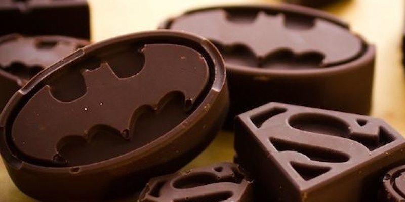 Batman Chocolate Platform for Ice-Cream Day 2014