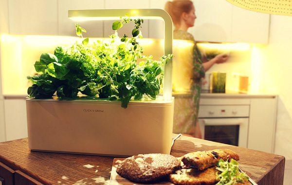 Smart Herb Garden Originates an Impressive Indoor Gardening Technology Inspired From NASA Smart Soil