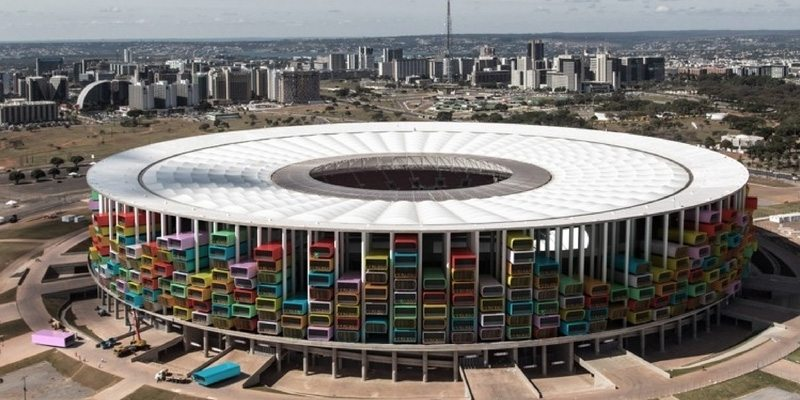 Casa Futebol Concept For Low-Cost Housing