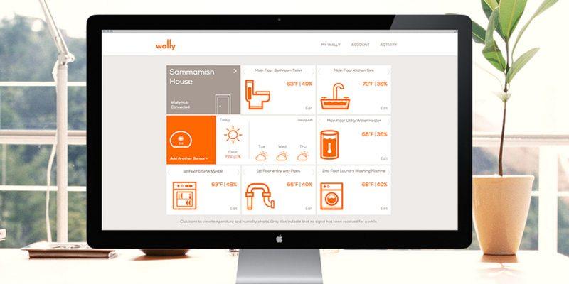 Wally Home sensors for environmental hazard protection at home