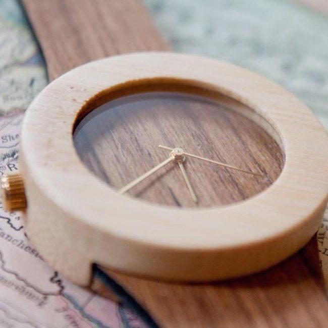 Teak & Bamboo Watch by Analog Watch Company