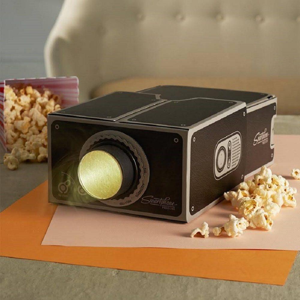 Cardboard+Smartphone+Projector