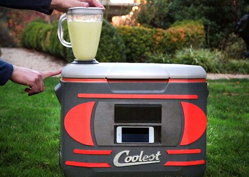 Coolest Cooler with blender