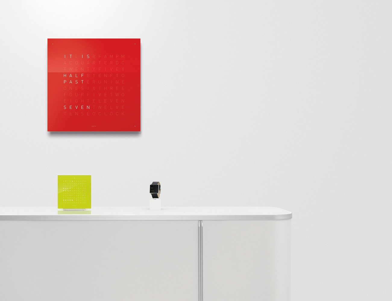 Creator's Edition Wall Clock by QlockTwo