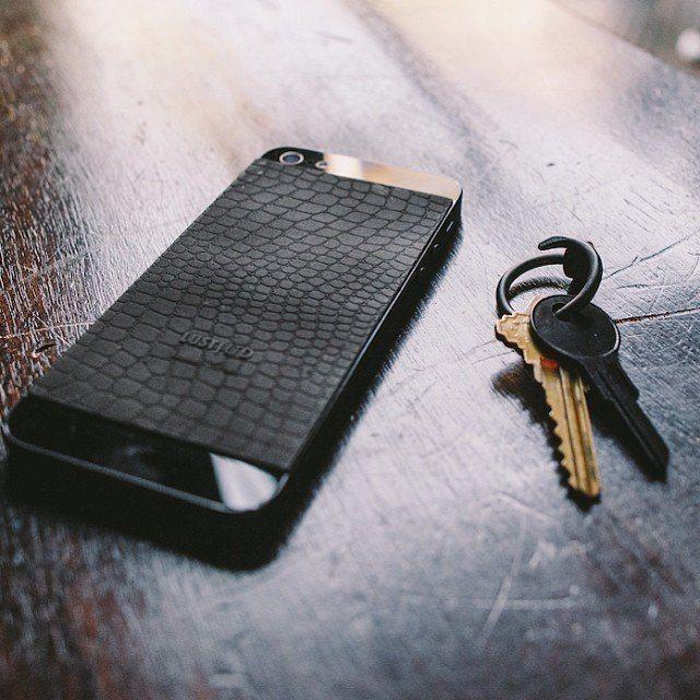 Crocodile+Embossed+IPhone+SE%2F5s+Decal+By+Lust+Ltd.