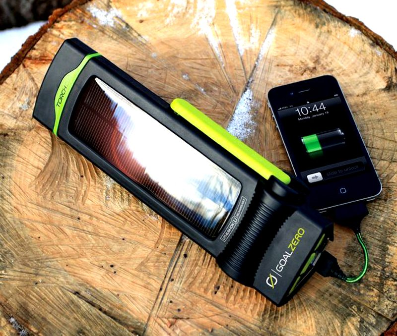 Goal Zero Solar Pack Charger Flashlight