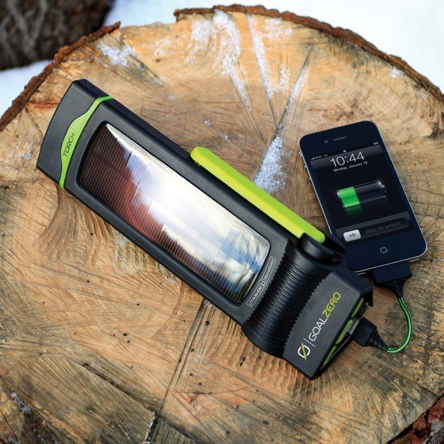 Goal Zero Torch 250 Flashlight Solar Kit