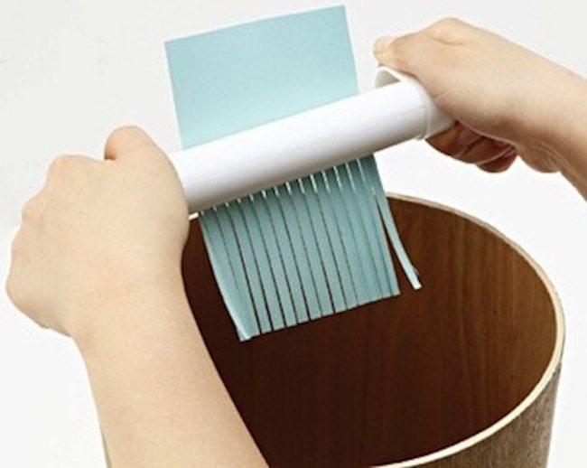 Handy Wind-Up Shredder
