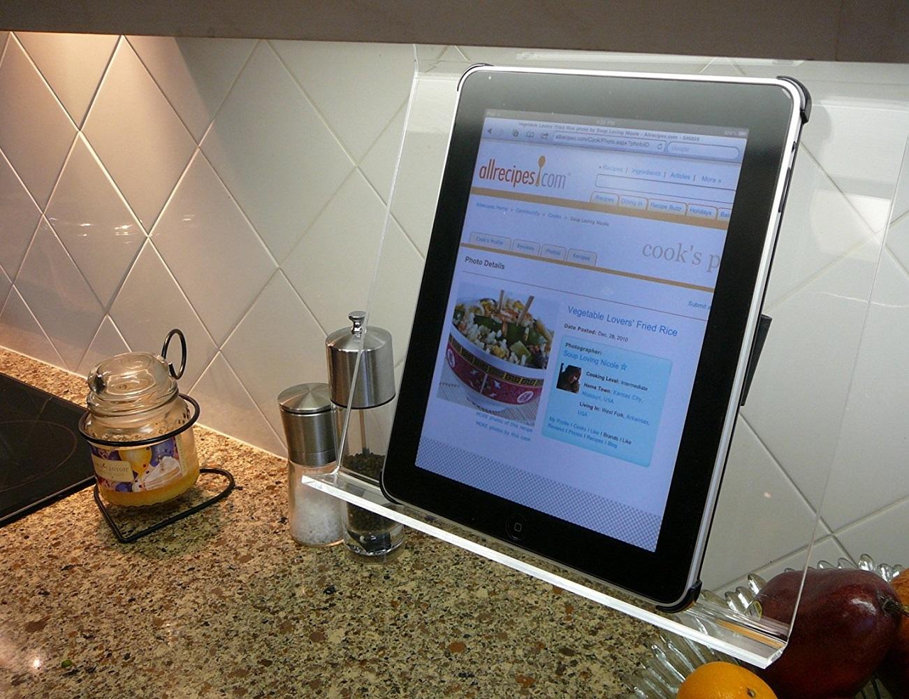 Kitchen iPad Holder