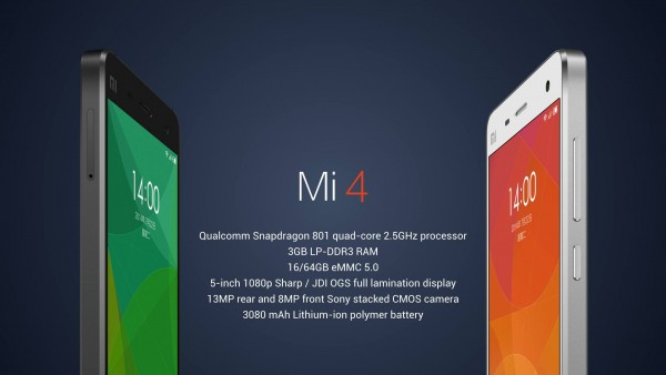 Xiaomi Mi4 is a Fantastic Phone With Great Specifications For A Budget Price: A Flagship Killer?