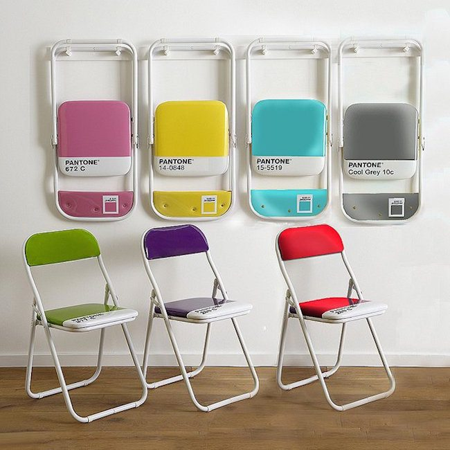 Pantone+Chairs+By+Seletti