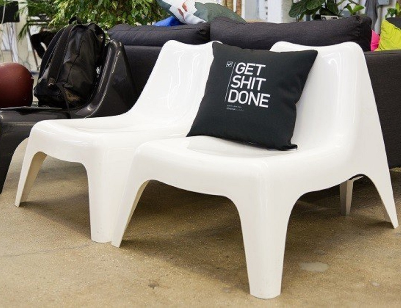 Get Shit Done Pillow