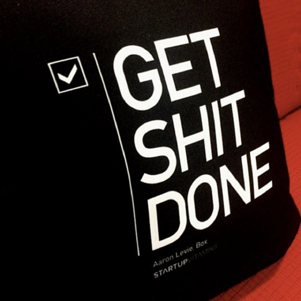 Get Shit Done Pillow loading=