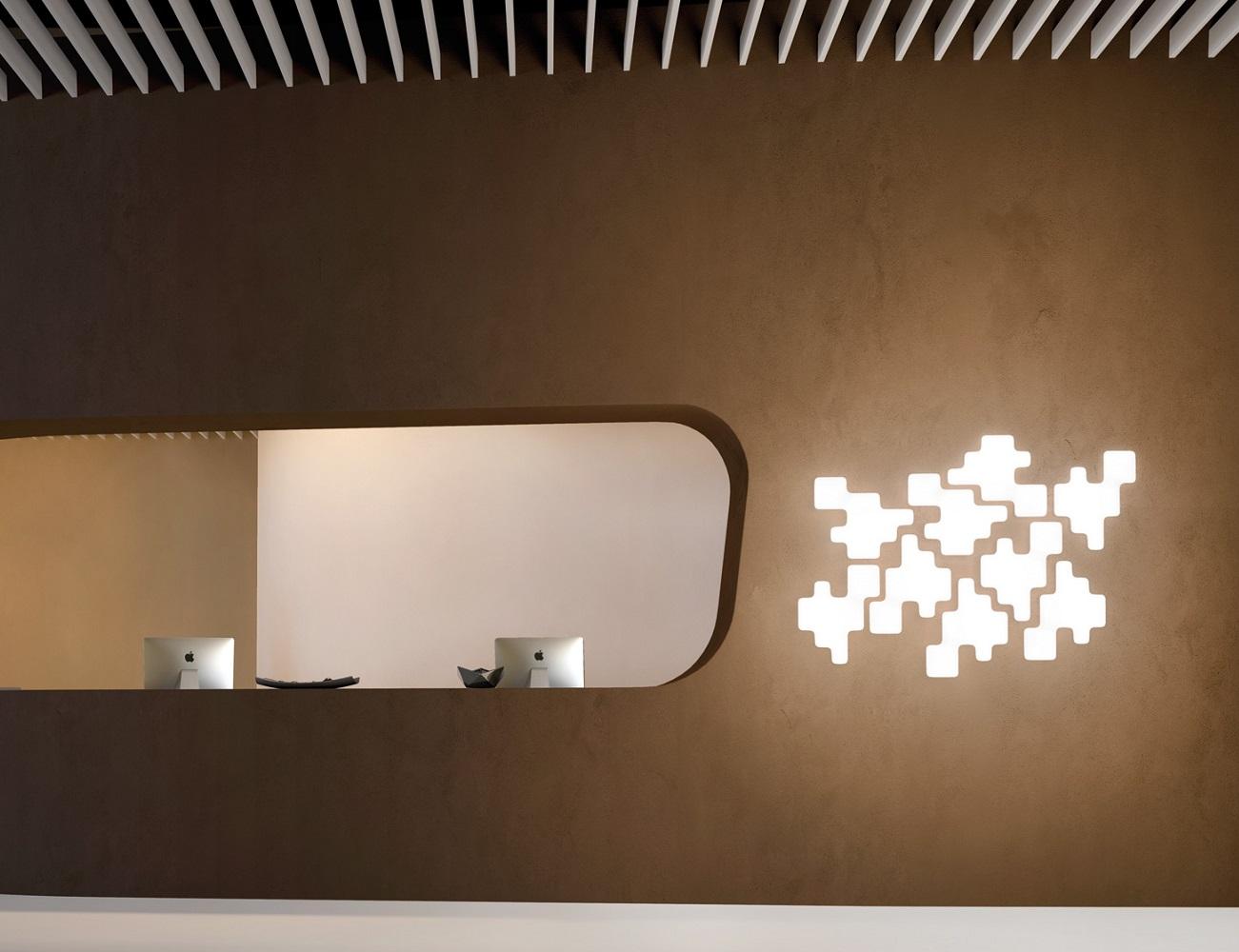 Pixel Wall Light by Kundalini