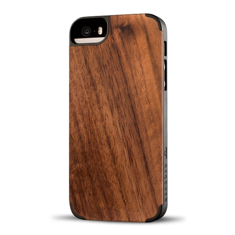 Rosewood Wood iPhone SE/5s Case by Recover