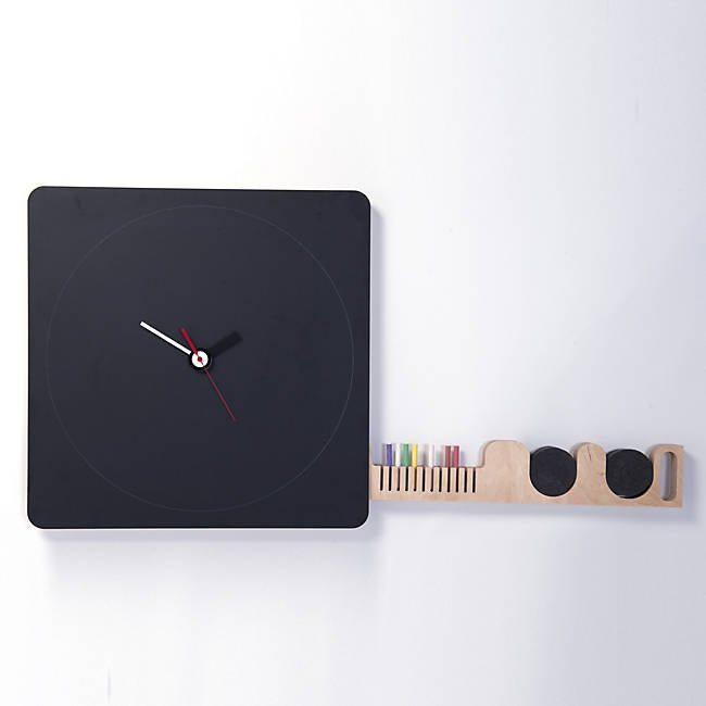 Tabla Blackboard Wall Clock