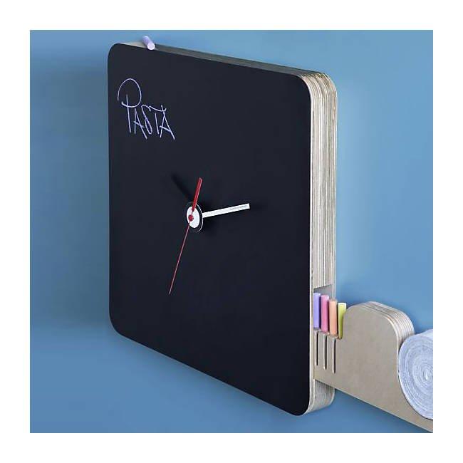 Tabla Blackboard Wall Clock
