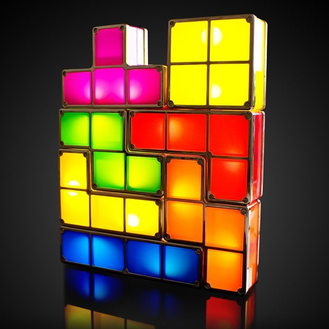 Tetris+Lights
