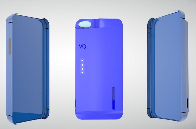 VQase The World's 1st True Phone Case E-Cigarette