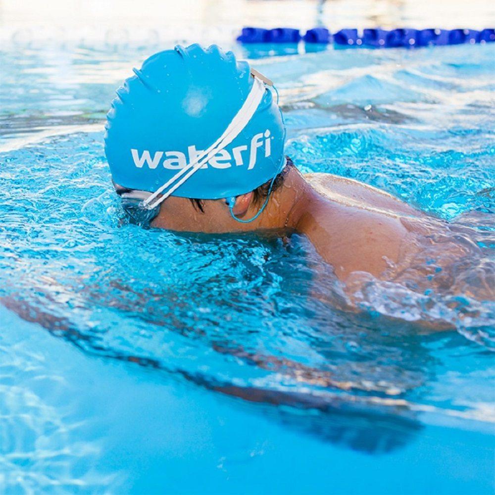 Waterfi+Waterproof+Short+Cord+Headphones