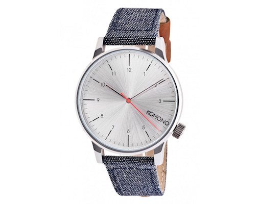 Winston Heritage Chambray Watch by Komono