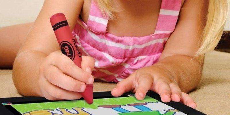 Back to School iCreate Crayon Stylus