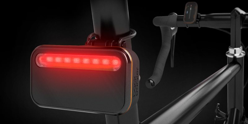 Backtracker back unit for smarter indication during bicycling