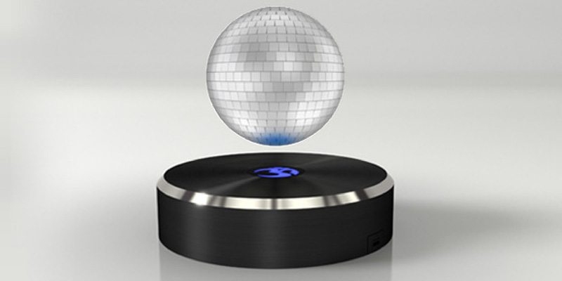 Om/One disco ball levitating speaker