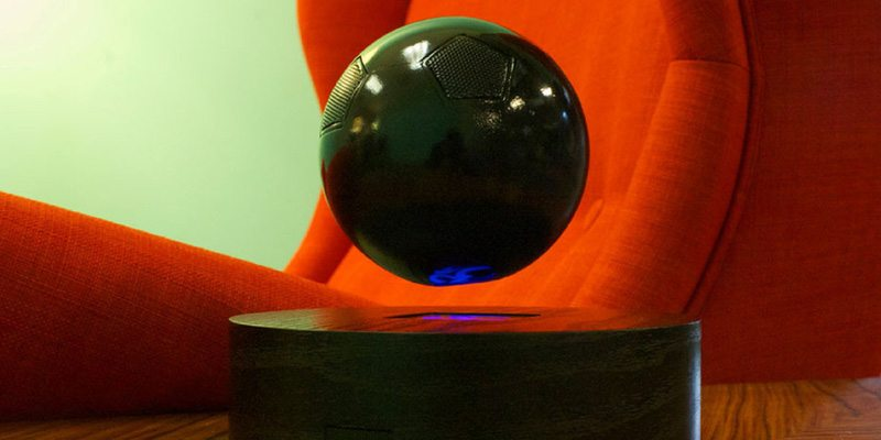Om/One audio speaker that levitates