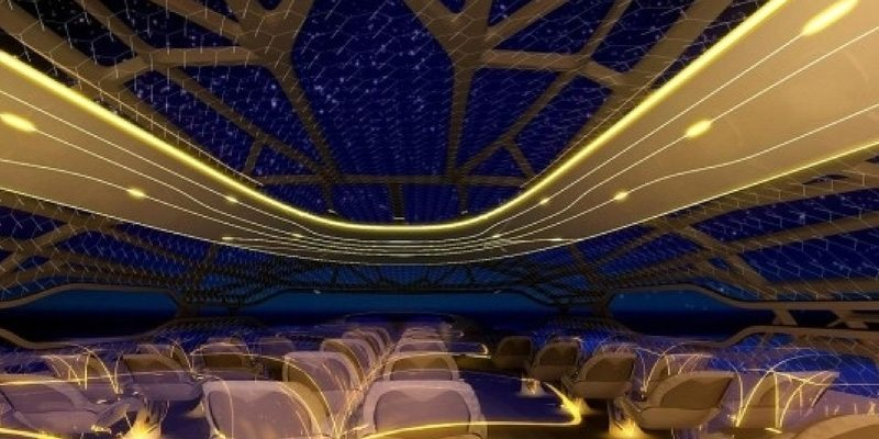 Transparent air rides by Airbus