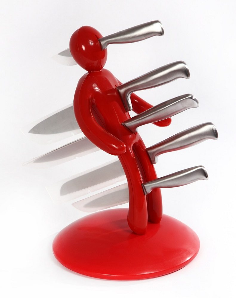 """""""The Ex"""" Voodoo Knife Holder- METAL Edition"""