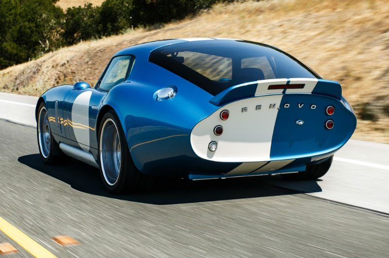 An image of the Renovo Coupe from behind