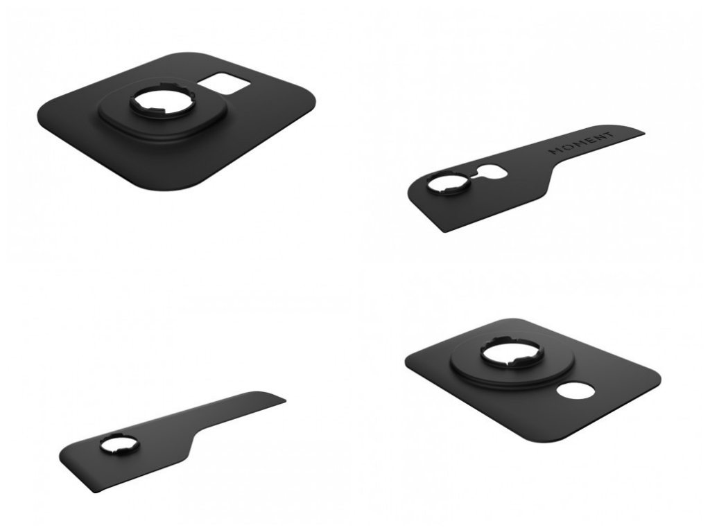 Mounting plates for Galaxy, iPhone, iPad, and Nexus