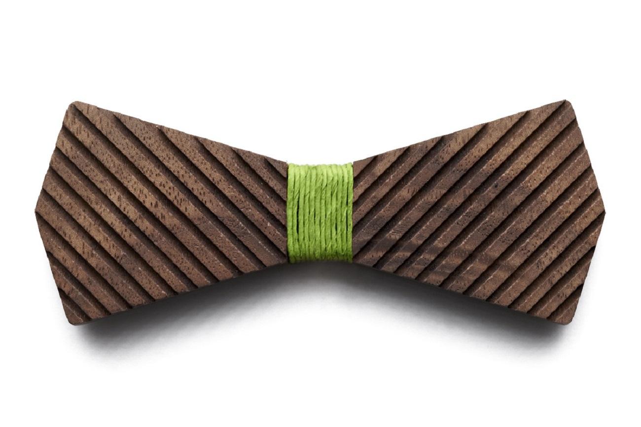Arrow Wooden Bow Tie by BÖ