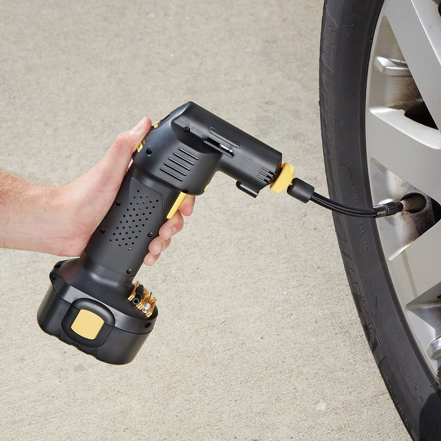 Automatic Cordless Tire Inflator 187 Gadget Flow