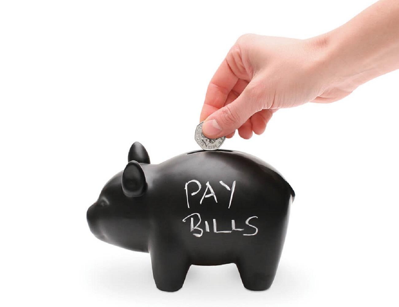 CapitaLIST Pig Chalkboard Piggy Bank