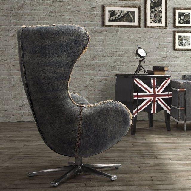 denim egg chair by arne jacobsen review. Black Bedroom Furniture Sets. Home Design Ideas
