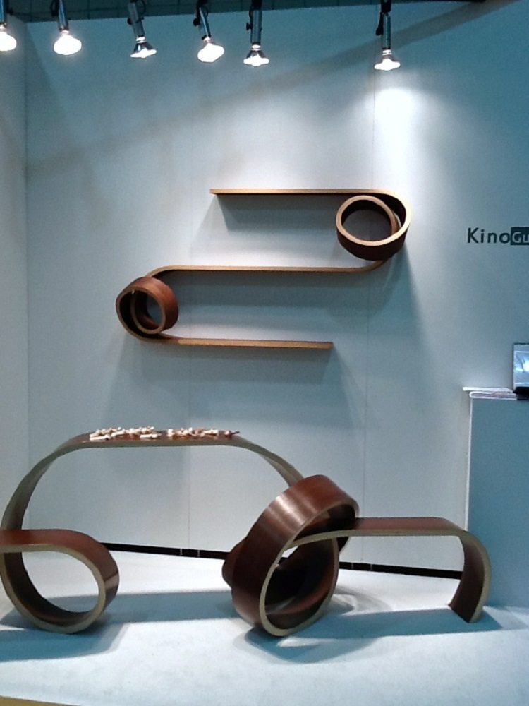 Double Twist Shelf by Kino Guerin