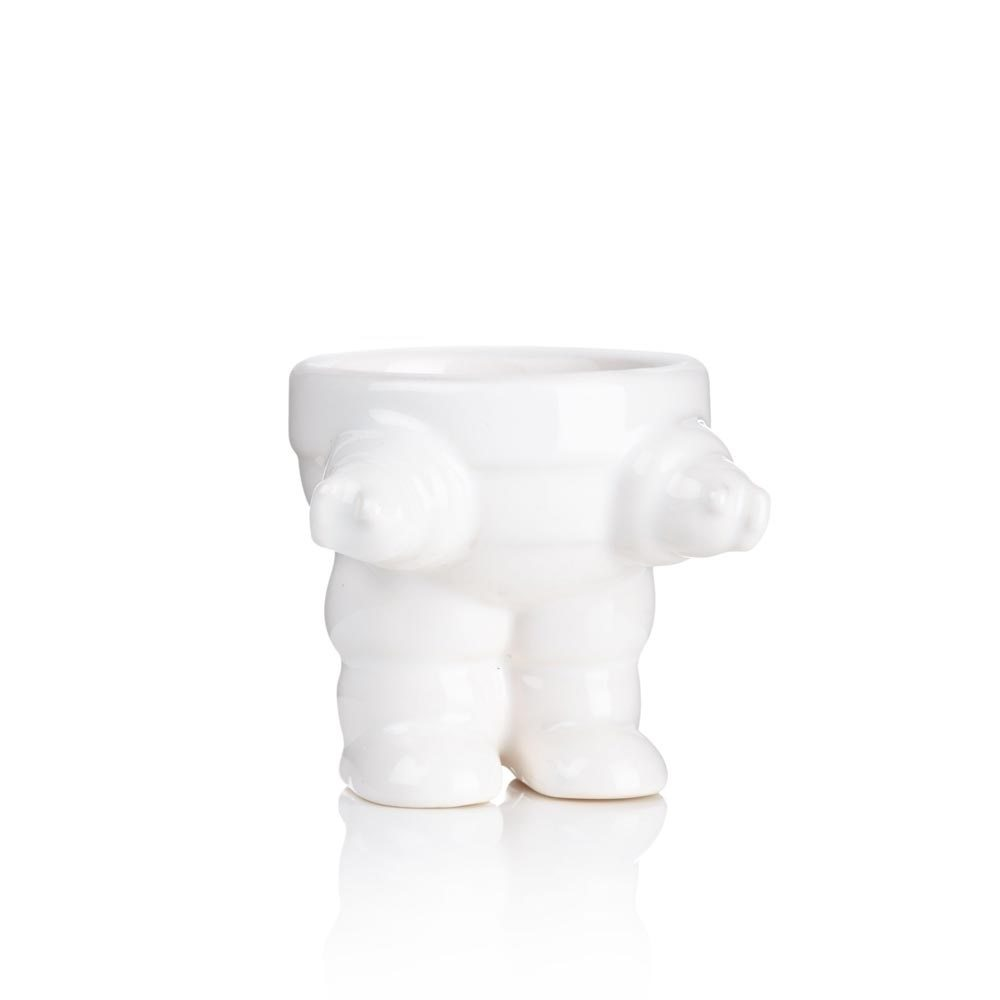 Eggbot Robot-Themed Egg Cup