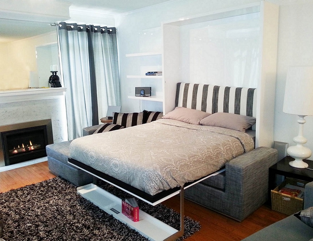 Float MurphySofa Sectional Wall Bed