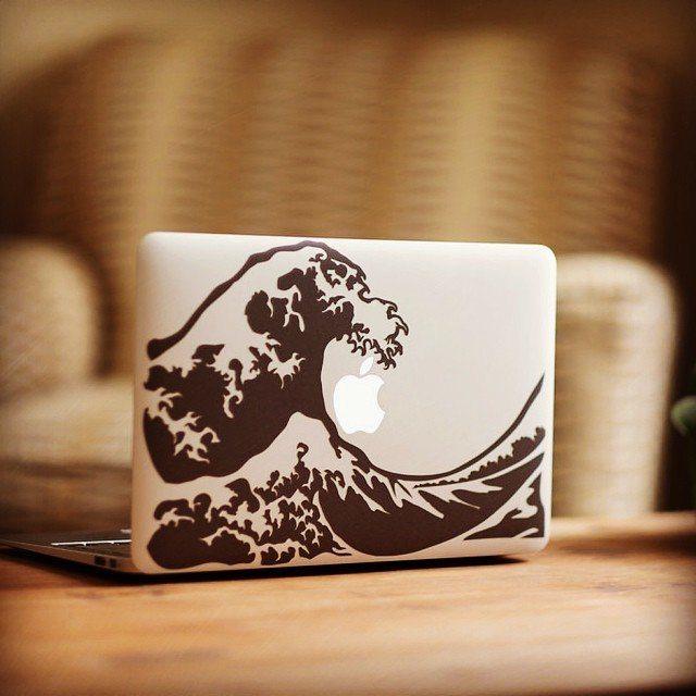 Great Wave MacBook Decal