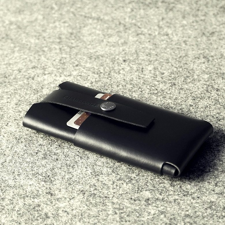 Handcrafted Leather iPhone 6 Wallet