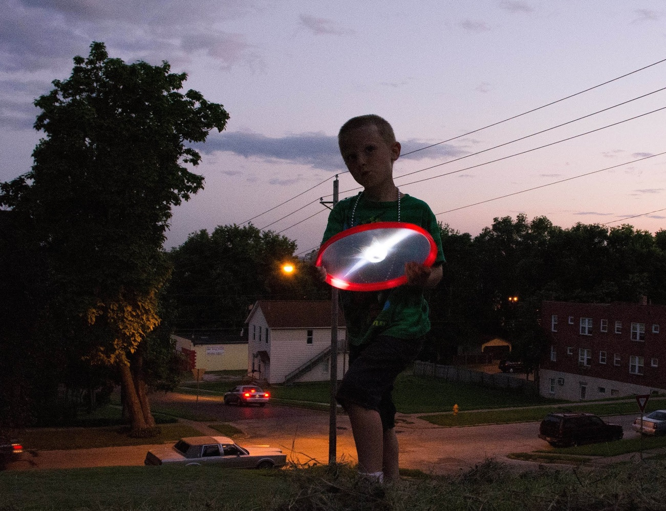 LED Light-Up Flying Disc