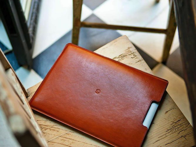 Leather MacBook Air 13″ Sleeve by Danny P.