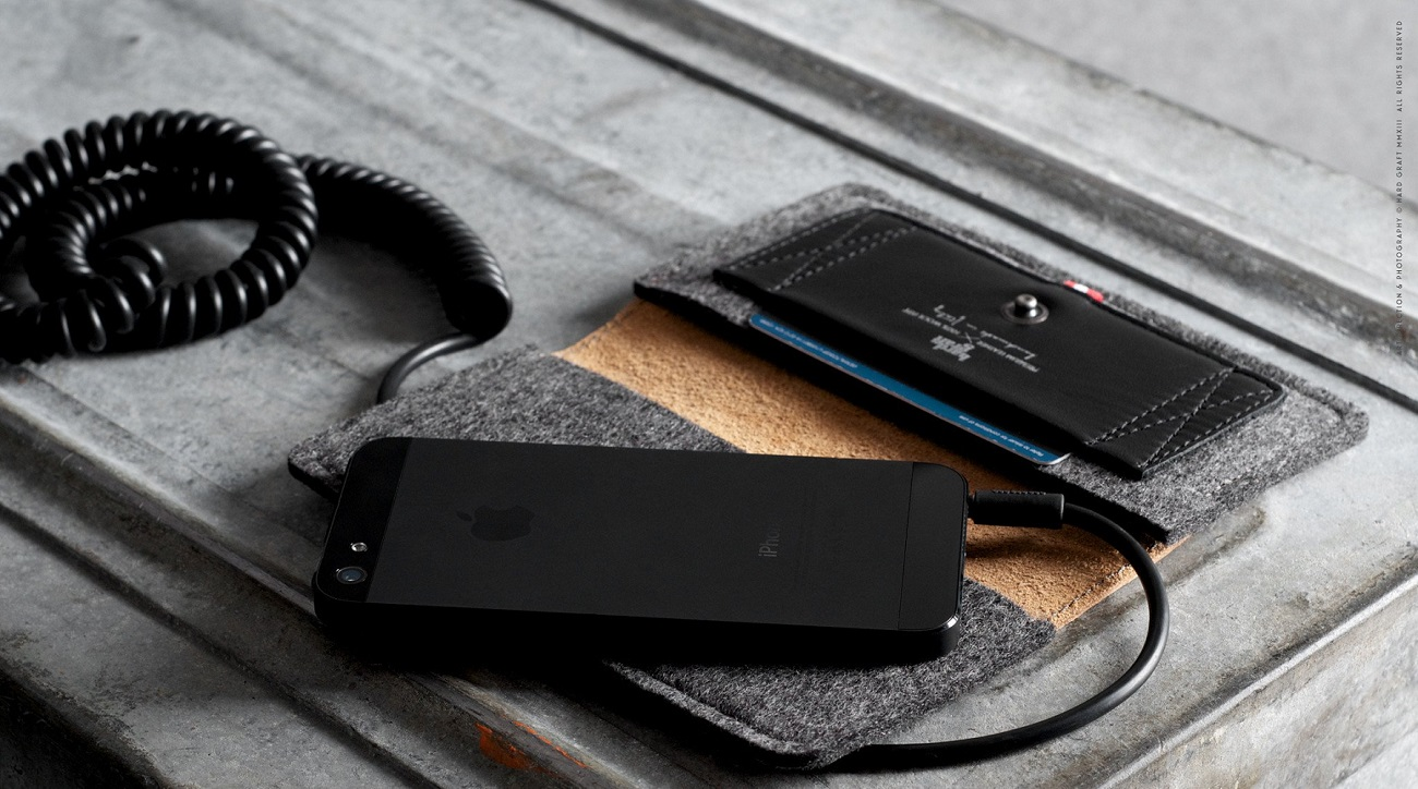 Mighty Phone Fold Wallet by HardGraft