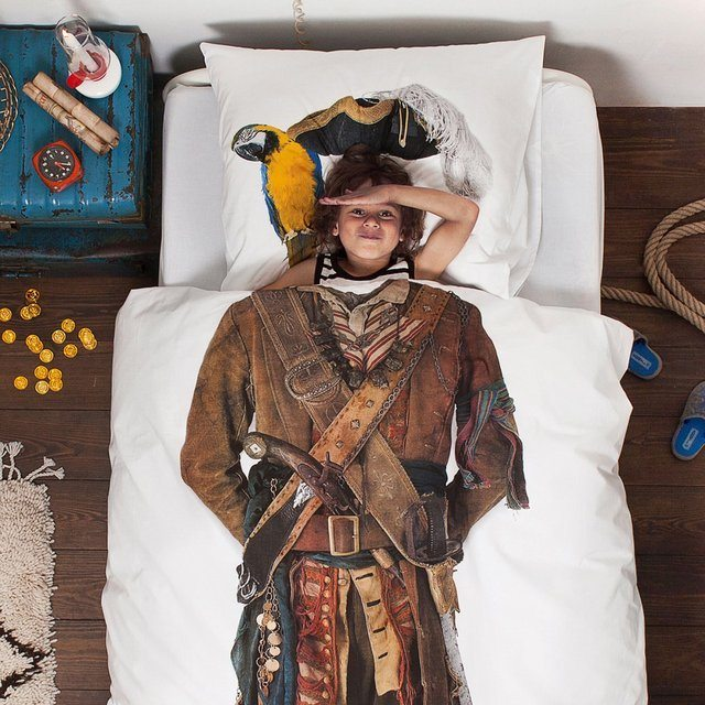 Pirate Duvet by Snurk