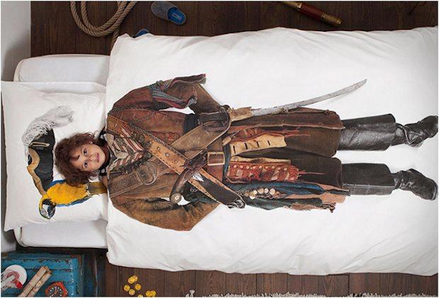 Pirate Duvet by Snurk
