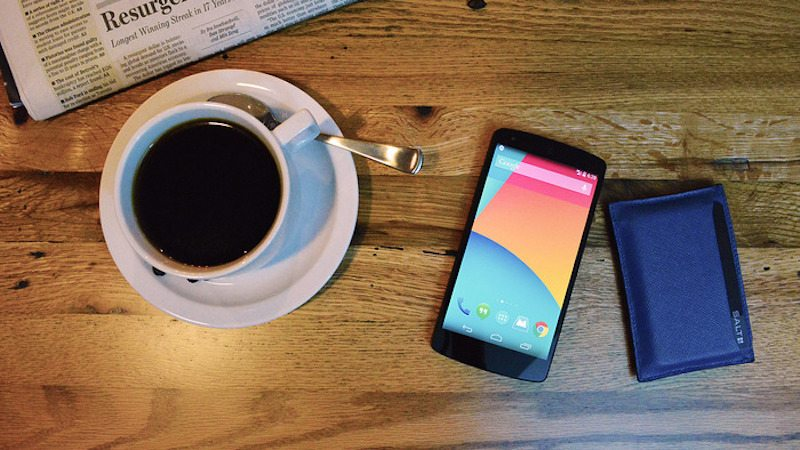 Carrying the SALT Card Makes Your Phone's Pin Code Obsolete