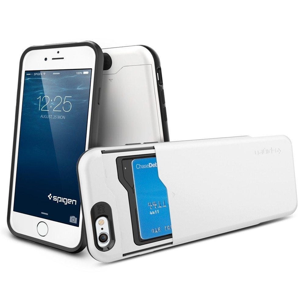 Slim Armor CS for iPhone 6s/6 by Spigen – With Vertical Card Storage