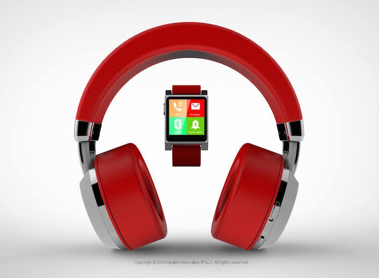 Tattoo Audio World's First Premium Headphone with Integrated Smartwatch